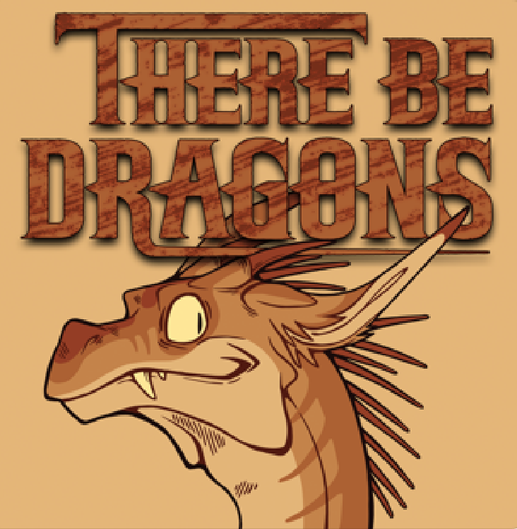 There Be Dragons Logo