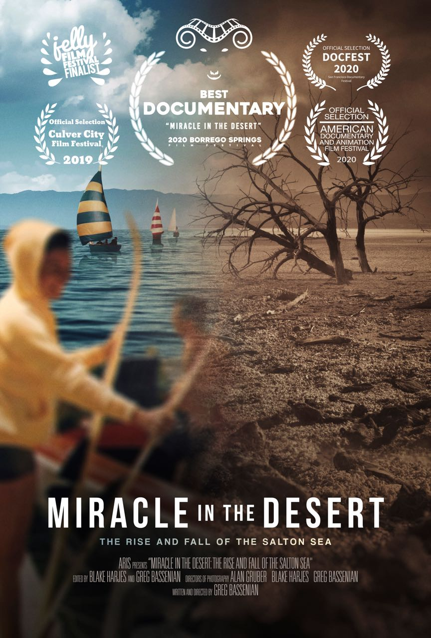 Miracle in the Desert Poster 27x40 Large_5Laurels